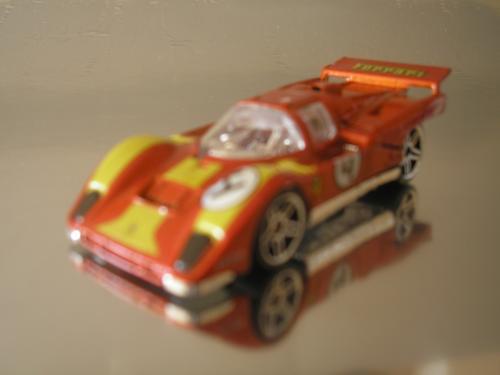 ( L - 90 ) Hot Wheels Miniatura Da  Ferrari 512m # 1
