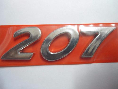 Emblema 207 Peugeot Padrão  Peugeot 207 + Brinde Original