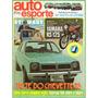 Auto Esporte Nº155 Setembro/1977 Chevette Dodge Polara Rs125