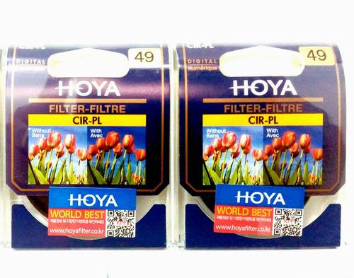 Filtro Polarizador Hoya 49mm Original (canon, Nikon, Sony)