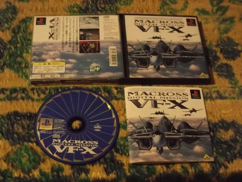 Ps1 - Macross Digital Mission Vf-x Original