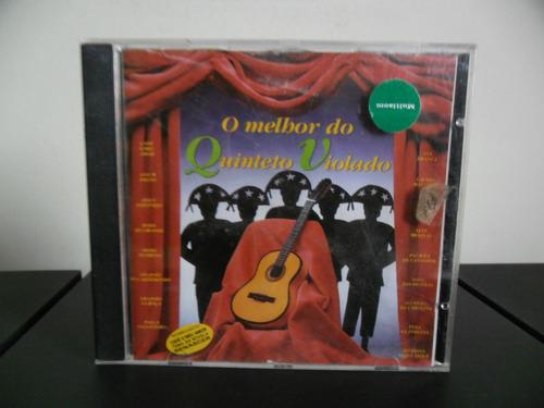 Cd O Melhor Do Quinteto Violado - Cadê O Meu Amor Original