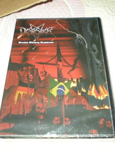 Dvd - Desaster - Brazilian Blitzkrieg Blasphemies - Ao Vivo Original