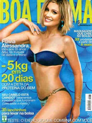 Boa Forma 267 * Jun/09 * Flávia Alessandra Original