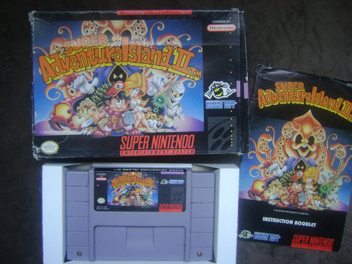 Super Adventure Island 2 Americano Com Caixa E Manual Original