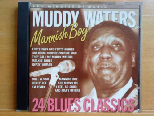 Cd Muddy Waters - Manish Boy Original
