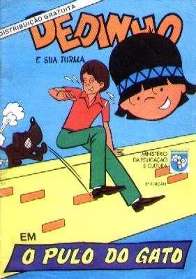 Dedinho E Sua Turma - O Pulo Do Gato - Mec - 1979 - Hq Rara Original