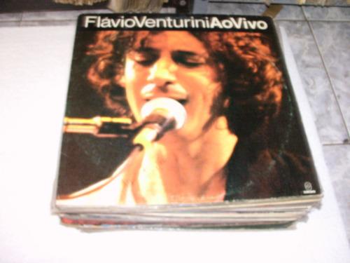 Lp Flavio Venturini / Com Encarte, Ao Vivo Original