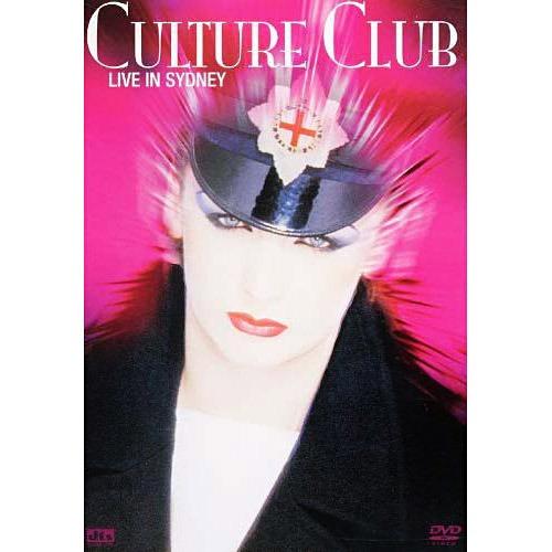 Dvd Culture Club - Live In Sidney Original