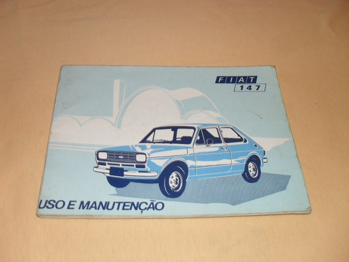 Fiat 1976 Manual Do Proprietario Original