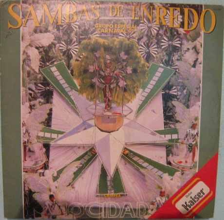 Sambas De Enredo - Grupo Especial 1991 - Lp Duplo Original