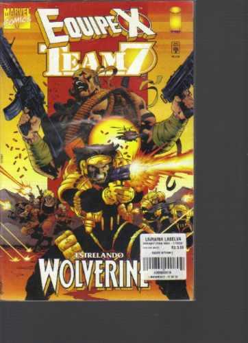 Equipe X Team 7 - Image - Marvel Comics -editora Abril Jovem Original