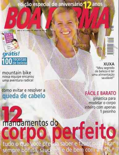 Xuxa Boa Forma Abril 1997 Original