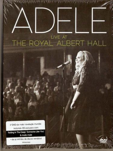 Dvd + Cd Adele - Live At The Royal Albert Hall - Novo***