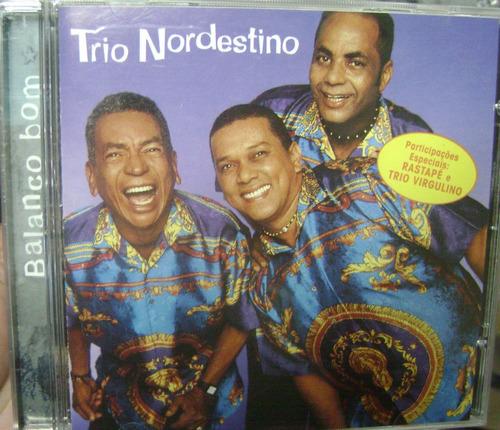 Cd  Trio  Nordestino  /  Balanço Bom  -  B58b164 Original