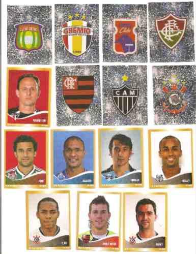 Figurinhas Do Campeonato Brasileiro De 2010 - Tenho Muitas.