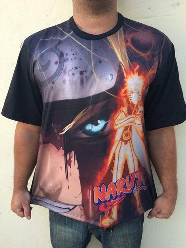 Camisa Camiseta Anime Naruto Original