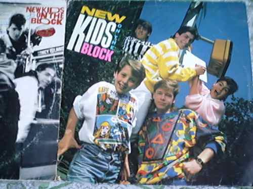 Relíquia!!!!!!!!! Lote De 2 Lps New Kids On The Block Original