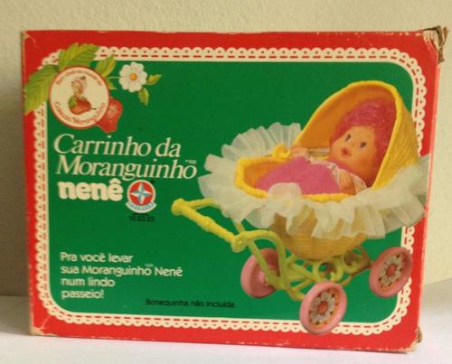 Carrinho Da Moranguinho Nenê - Estrela - Móvel Original
