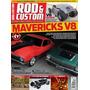 Rod & Custom Nº25 Maverick V8 Fusca Hot Pick up Rat
