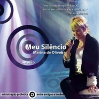 Marina De Oliveira - Meu Silêncio - Cd - Mk Music Original