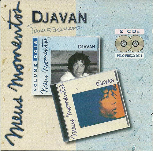 Djavan Meus Momentos - Cd Duplo  Raridade Original
