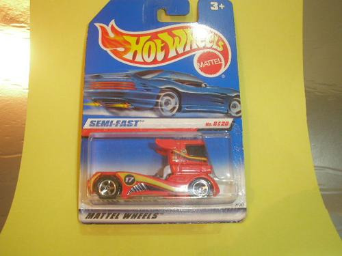 ( L - 120 ) Hot Wheels Antigo Miniatura  Caminhão Semi Fast