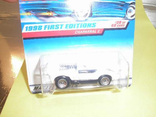 ( L - 120 ) Hot Wheels  Miniatura Do Chaparral