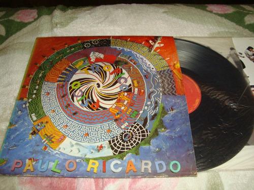 Lp - Paulo Ricardo - Novo Original