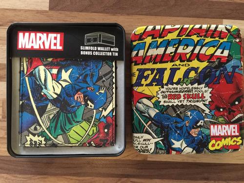 Carteira Capitão América  Marvel Original