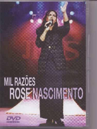 Rose Nascimento - Mil Razões - Lançamento -dvd - Mk Music Original