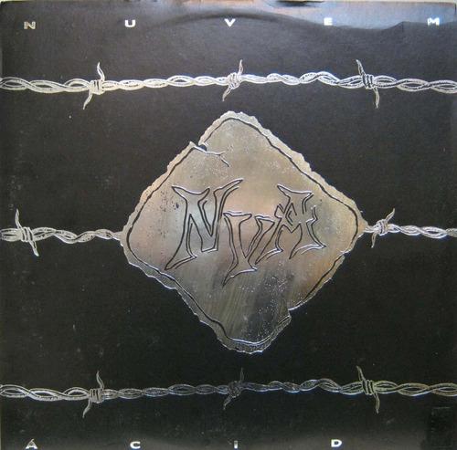 Nuvem Ácida 1º. Lp Nua  Uptown Records Autografado Raríssimo