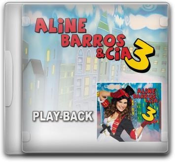 Aline Barros E Cia 3 Playback Cd Lacrado Mkshop Original