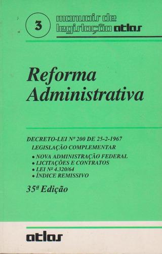 Manuais De Legislação - Reforma Administrativa Original