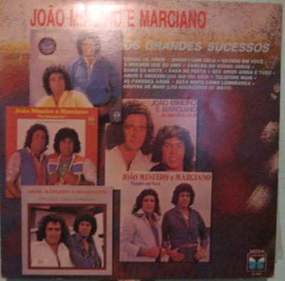 João Mineiro & Marciano - Os Grandes Sucessos - 1987 Original