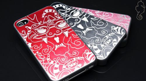 Capa iPhone 4/4s Iskin Year Of The Dragon Lançamento 30%off Original