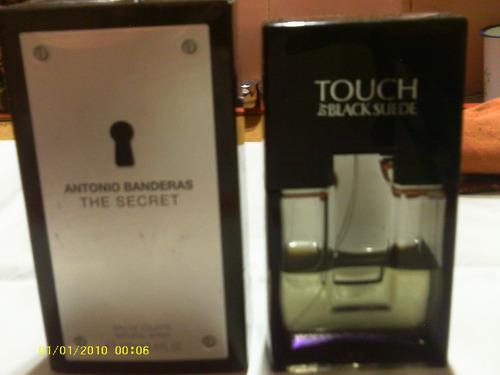 Touch-(black-suede)c/algo De Contenido+-the Secret-ab(vacio)