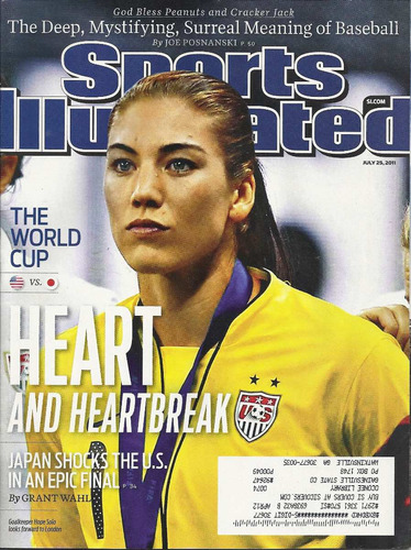 Revista Sports: Hope Solo / Darren Clarke / Ryan Lochte Original