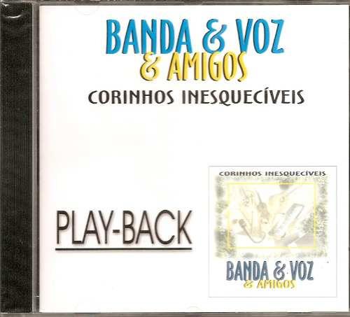 Banda & Voz - Corinhos Inesquecíveis -playback -mk- Raridade Original