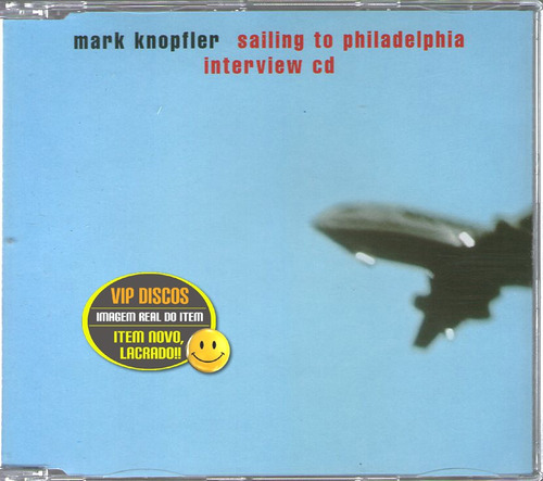 Mark Knopfler Cd Entrevista Sailing To Philadelphia - Raro Original