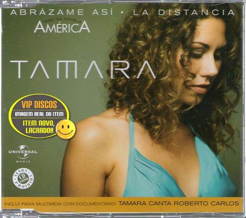 Cd Tamara Canta Roberto Carlos Single + Multimídia Lacrado!! Original