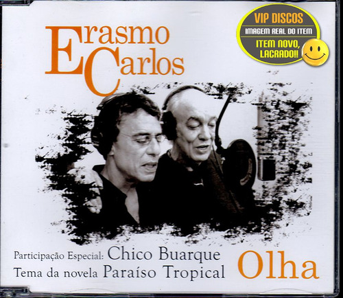 Erasmo Carlos E Chico Buarque Cd Single Olha - Lacrado Original