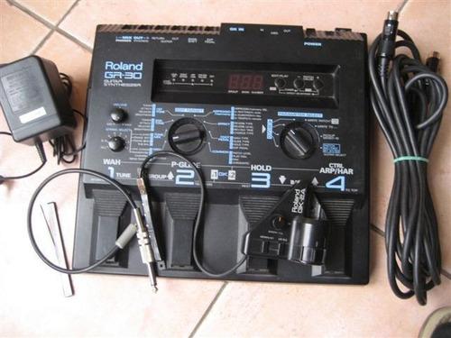 Sintetizador De Guitarra Roland Gr30+cable 13 Pin Y Mic Gk2