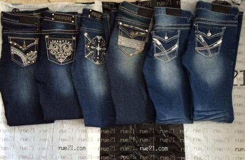 Calça Jeans Fem.- Twentyone Black By Rue 21 -  ! Original