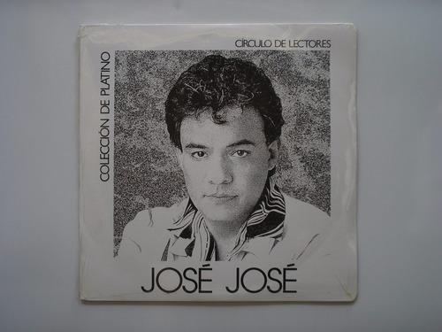 Lp Vinilo Jose Jose Coleccion Platino 2lps Nuevo Sellado1992