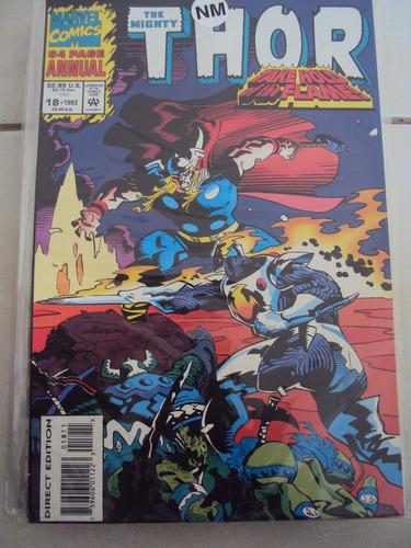 Thor Annual # 18 - Importada - Take Hold The Flame Original