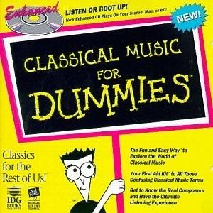 Cd Classical Music For Dummies Original