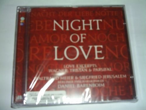 Cd Night Of Love ( Daniel Barenboim ) Clássico Original