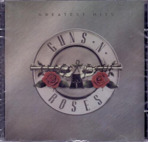 Cd Guns N' Roses - Greatest Hits - Novo***