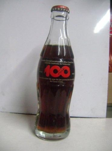 Coca Cola  100 Años 1886 1986 Tapa Roja Colombia